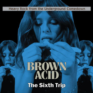 Brown Acid - The Sixth Trip (EZRDR-090 - 2018 - RidingEasy Records)
