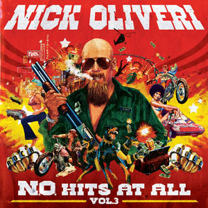 Nick Oliveri - N.O. Hits At All - Vol.3 (HPS062 - 2017)
