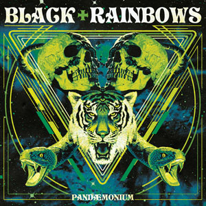 Black Rainbows - Pandaemonium (HPS073 - Green Cover Repress 2019)