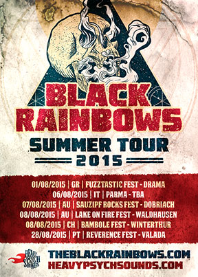 Black Rainbows - Summer Tour 2015