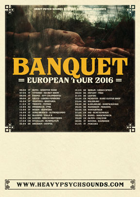 Banquet - European Tour 2016
