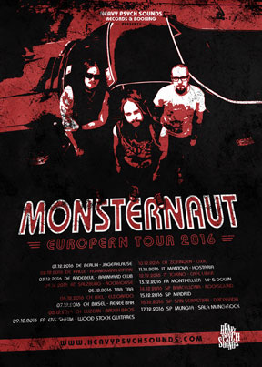 Monsternaut - European Tour 2016