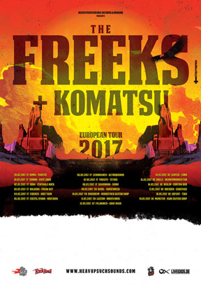 The Freeks - European Tour 2017