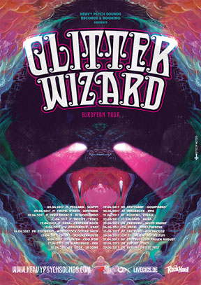 Glitter Wizard - European Tour 2017