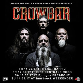Crowbar - Italian Tour 2017