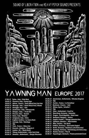 Yawning Man - European Tour 2017