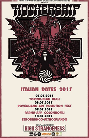 Mothership - Italian Tour 2017