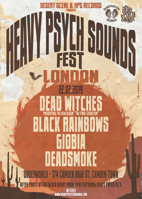 Heavy Psych Sounds Fest 2019 - London