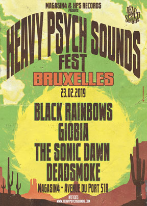 Heavy Psych Sounds Fest 2019 - Bruxelles