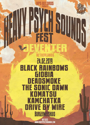 Heavy Psych Sounds Fest 2019 - Deventer