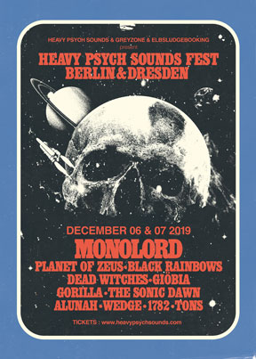 Heavy Psych Sounds Fest 2019 - Berlin / Dresden