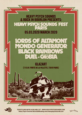 Heavy Psych Sounds Fests 2020 - Paris