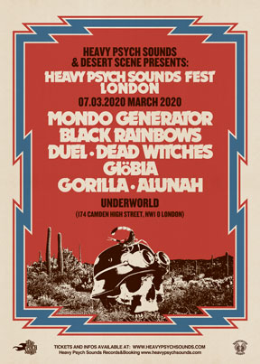 Heavy Psych Sounds Fests 2020 - London