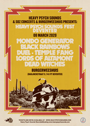 Heavy Psych Sounds Fests 2020 - Deventer